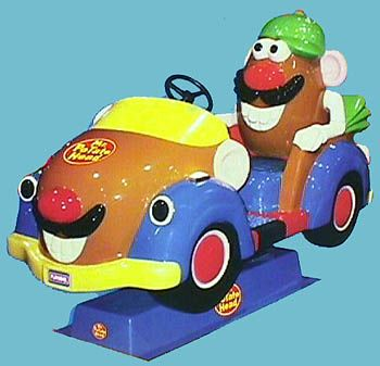 Mr Potato Head Car Coin Operated Ride Kiddie Rides
