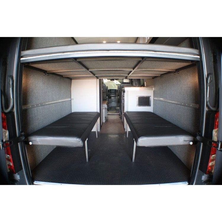 Wall Mount Folding Sofa Bench Seat Sprinter Van Camper Sprinter