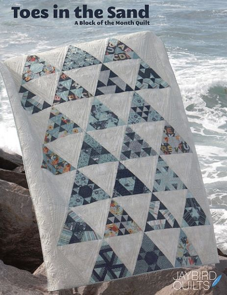 Toes in the Sand Block of the Month Quilt Kit. Quilted Castle ... : quilted castle - Adamdwight.com