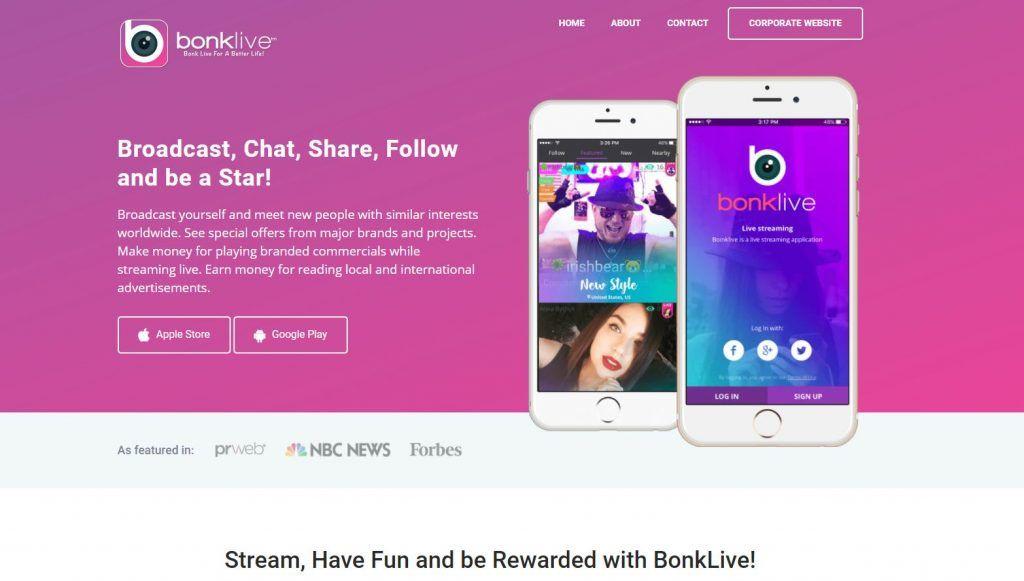 BonkLive Social Live Streaming App Live streaming app