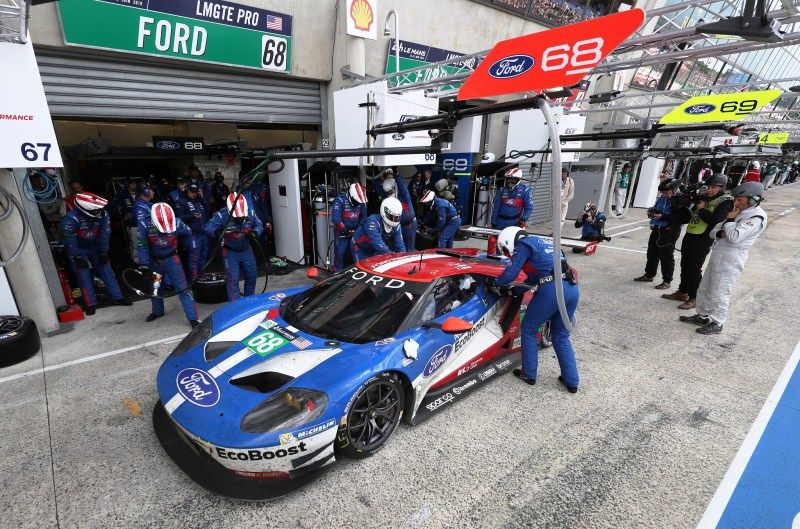Motor N Ford Wins Le Mans Ford