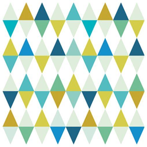 papier peint lilipinso forme g om trique multicolore. Black Bedroom Furniture Sets. Home Design Ideas