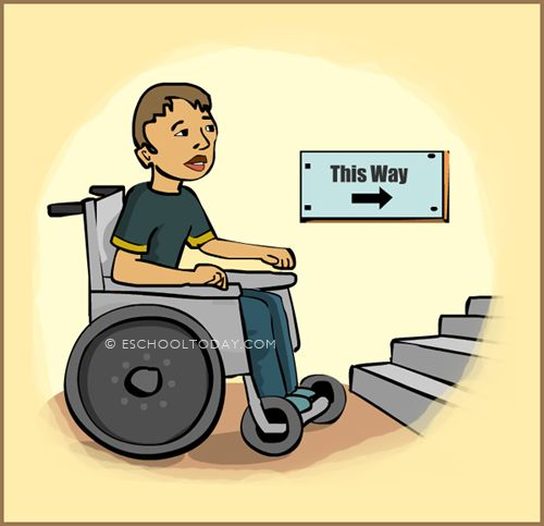 All public places must be designed and developed with people with disabilities in mind. They are a part of society. It we truly mean to be fair to all, then we must make reasonable changes to all public facilities to accommodate people with disability