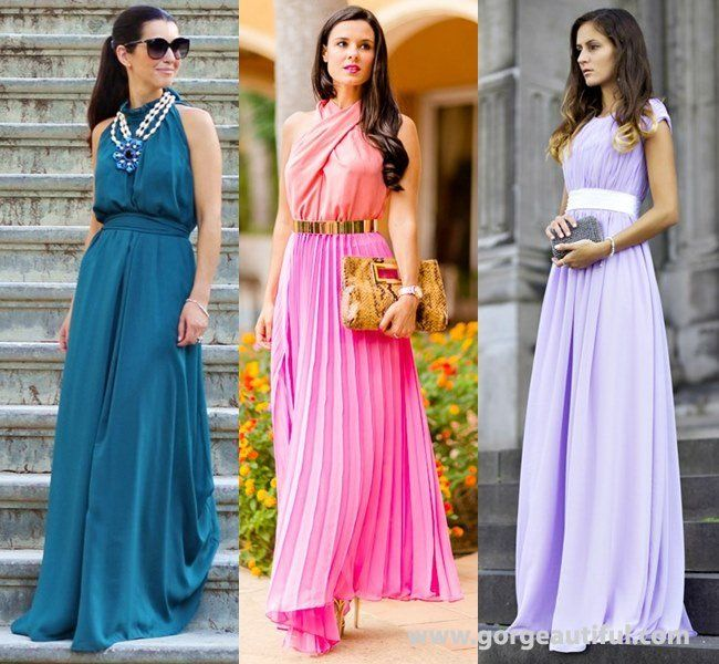 New Summer Wedding Guest Maxi Dress Ideas
