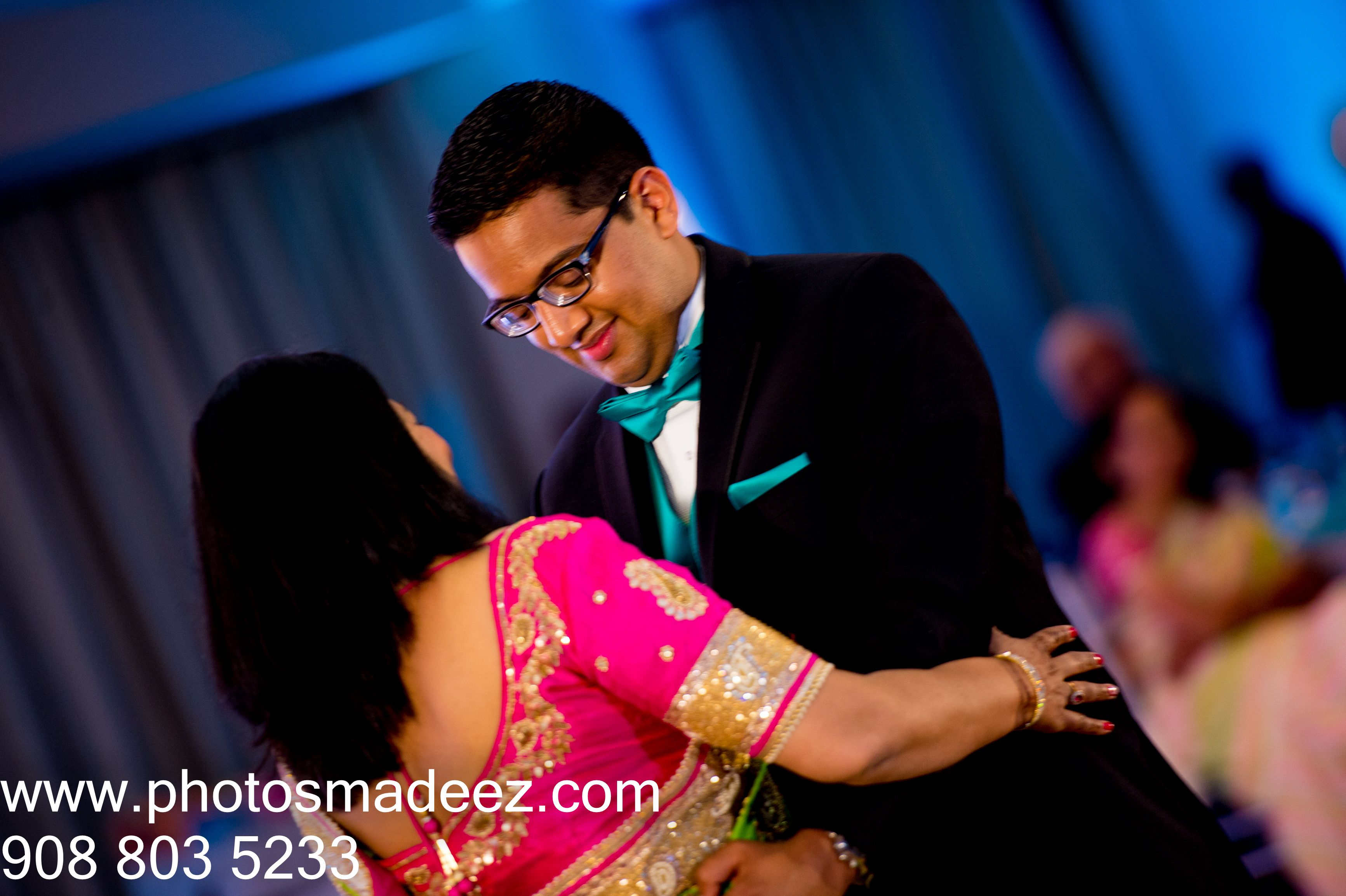 Mother And Son Dance For Indian Wedding Reception At Springfield Country Club Best Photographer