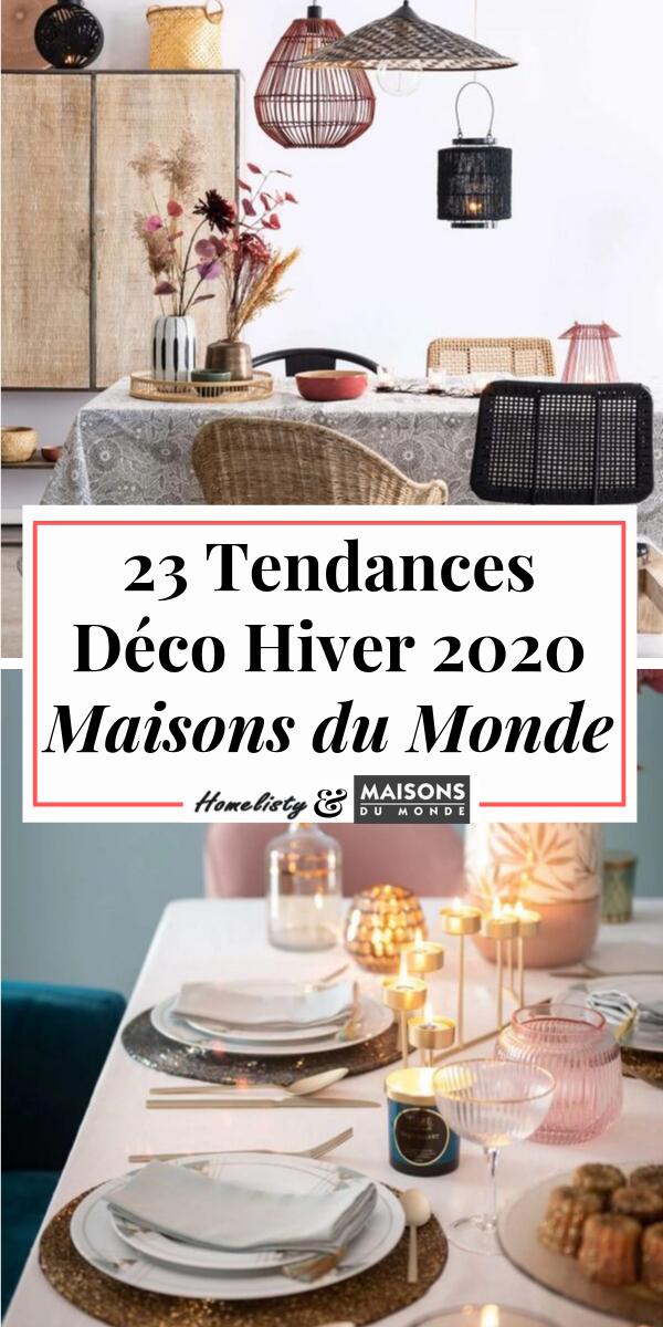 Catalogue Maisons du Monde : 8 Tendances Déco Printemps Été 8