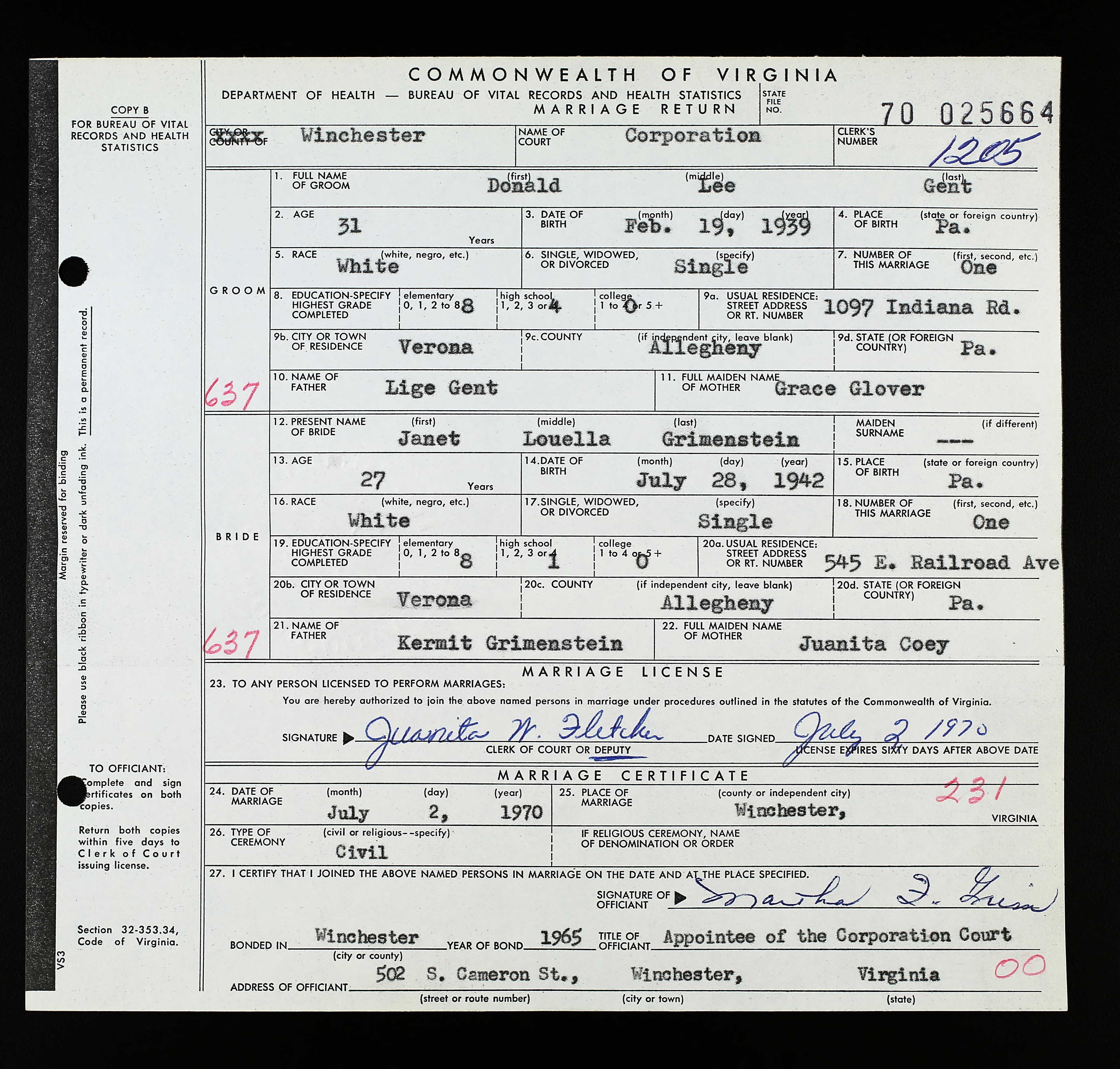 Marriage Records Image By Alexandra Coyle On Ancestry Virginia