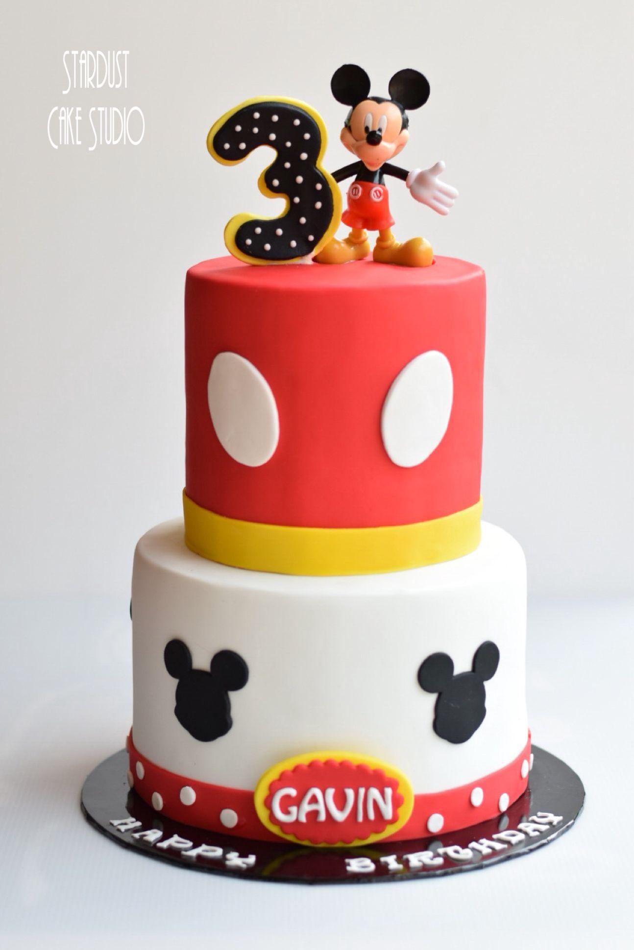 Mickey cake mickey cakes cake fondant cake