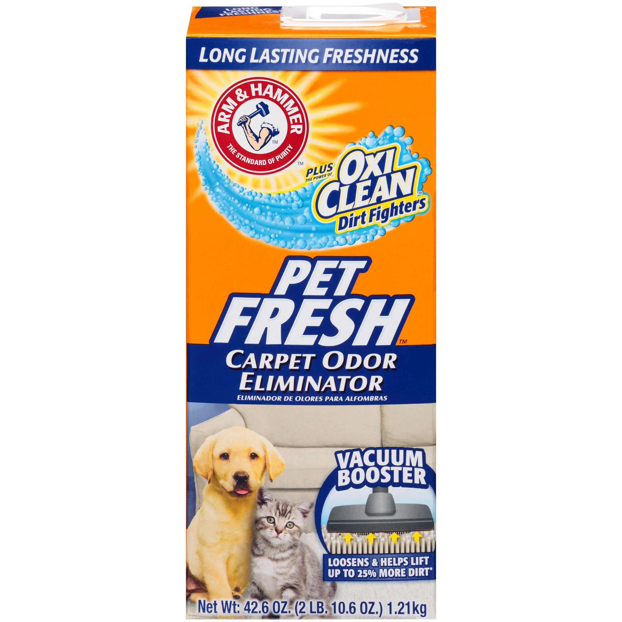 Arm hammer carpet odor eliminator pet fresh 426oz