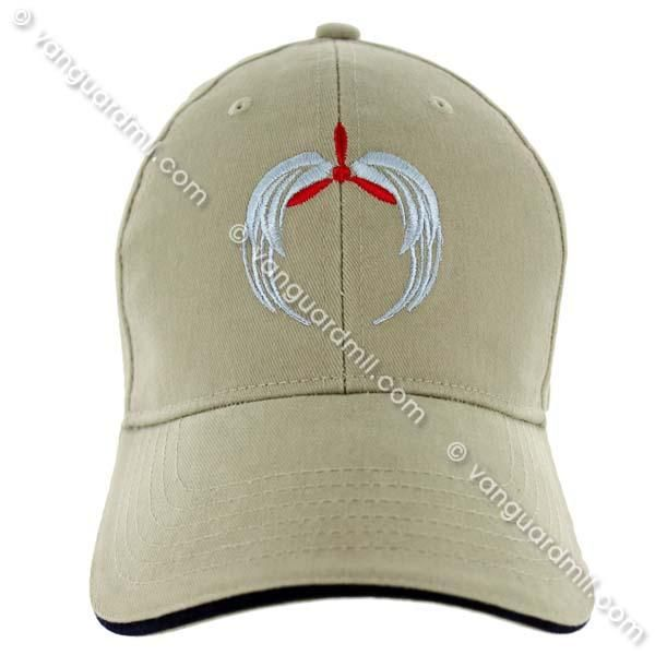 c4fe55370a1 Civil Air Patrol  Ball Cap Stone Navy with Prop and Downward Wings ...