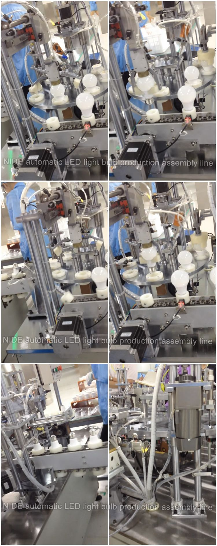 This Full Automatic Led Bulb Assembly Line Is Applied For Various Light Kinds Of Lights It Special Mass Production Strip And Tube