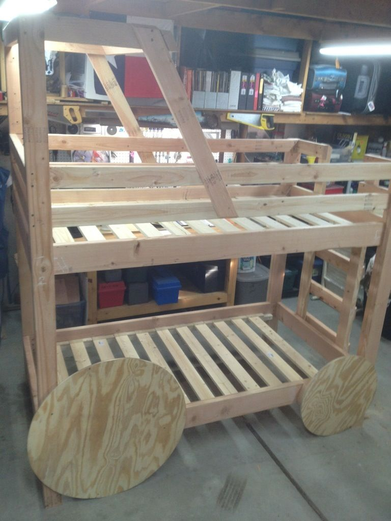 John Deere Tractor Bunk Bed Build Along Project   Bunk bed ...
