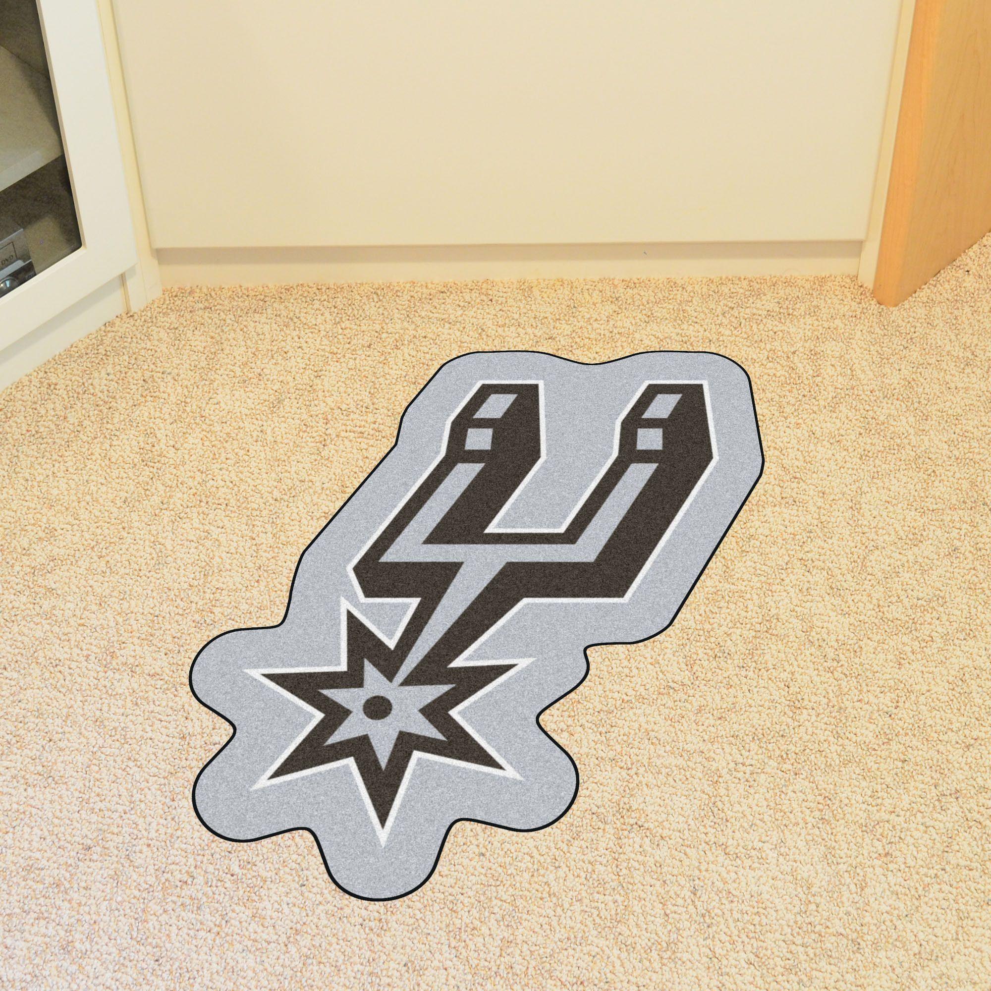 San Antonio Spurs NBA Mascot Mat