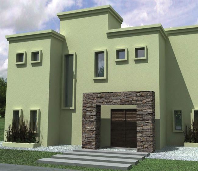 Resultado de imagen para gama de verde para exteriores - Casas color verde ...