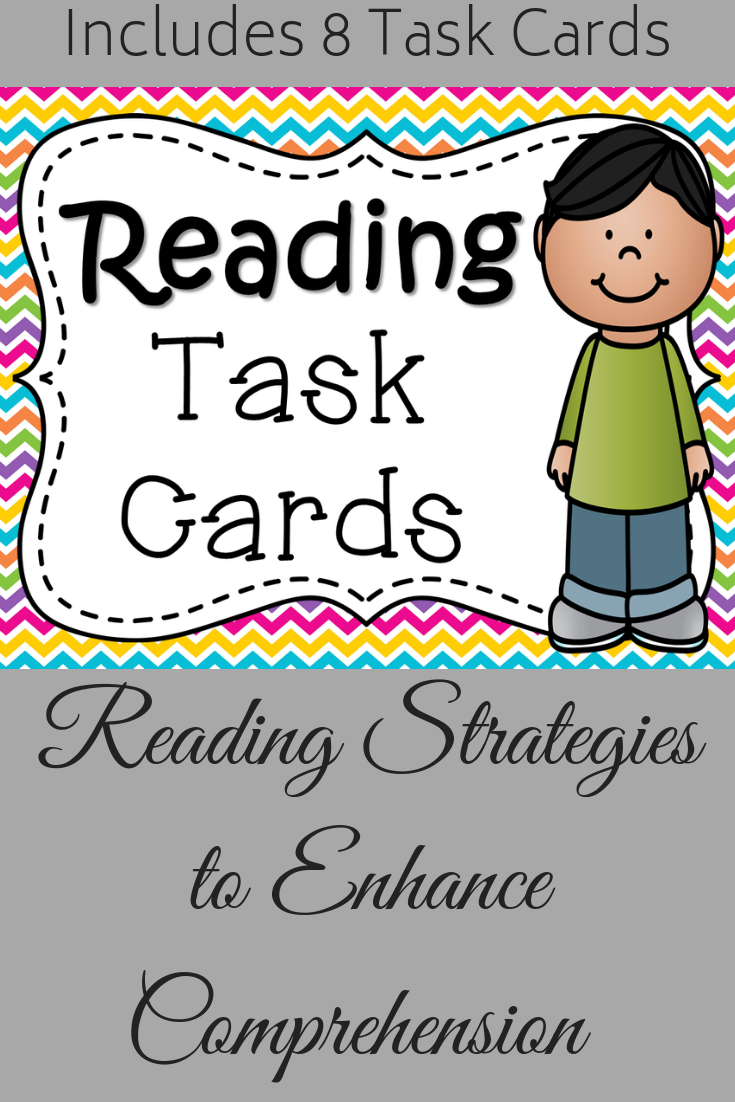 These Task Cards Are A Great Way To Review Visualization Making Predictions Summary While Showing Stude Reading Task Cards Reading Strategies Task Cards [ 1102 x 735 Pixel ]