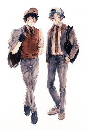 Stylish School Boys print