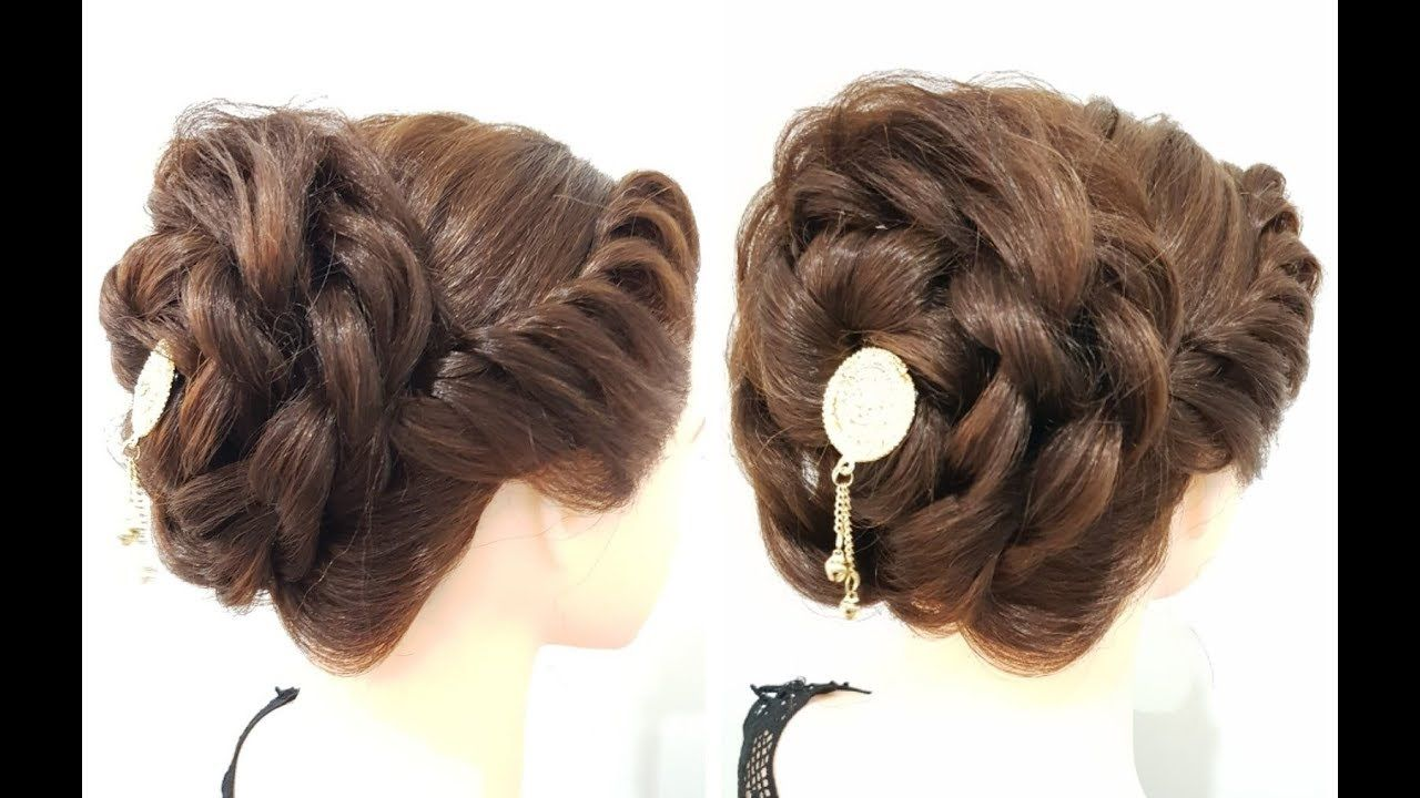 very beautiful and easy juda hairstyle for party  Quick & easy