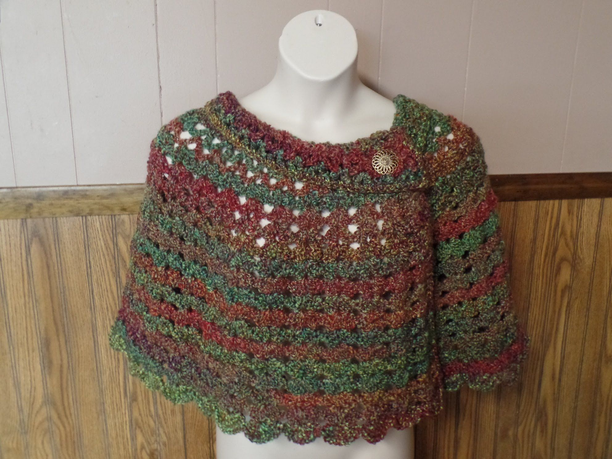 Learn how to crochet womans cozy capelet shawl poncho crochet learn how to crochet womans cozy capelet shawl poncho crochet tutorial 256 youtube bankloansurffo Gallery