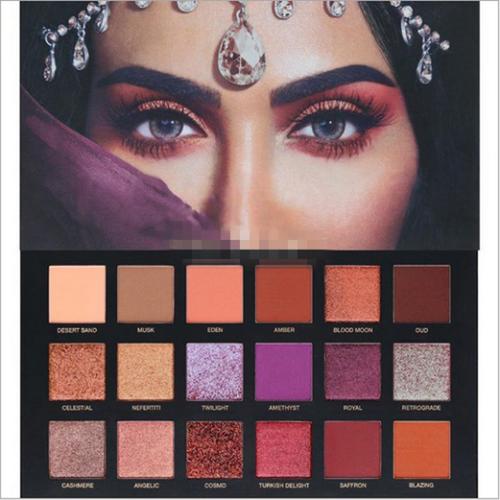 Pin On Huda Beauty Desert Dusk Eyeshadow Palette Eye Shadow 18 Colors