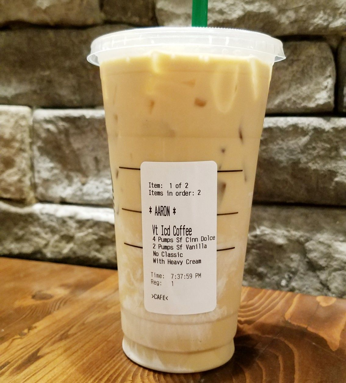 Keto Friendly Iced Coffee At Starbucks 😍 Make Sure You Ask