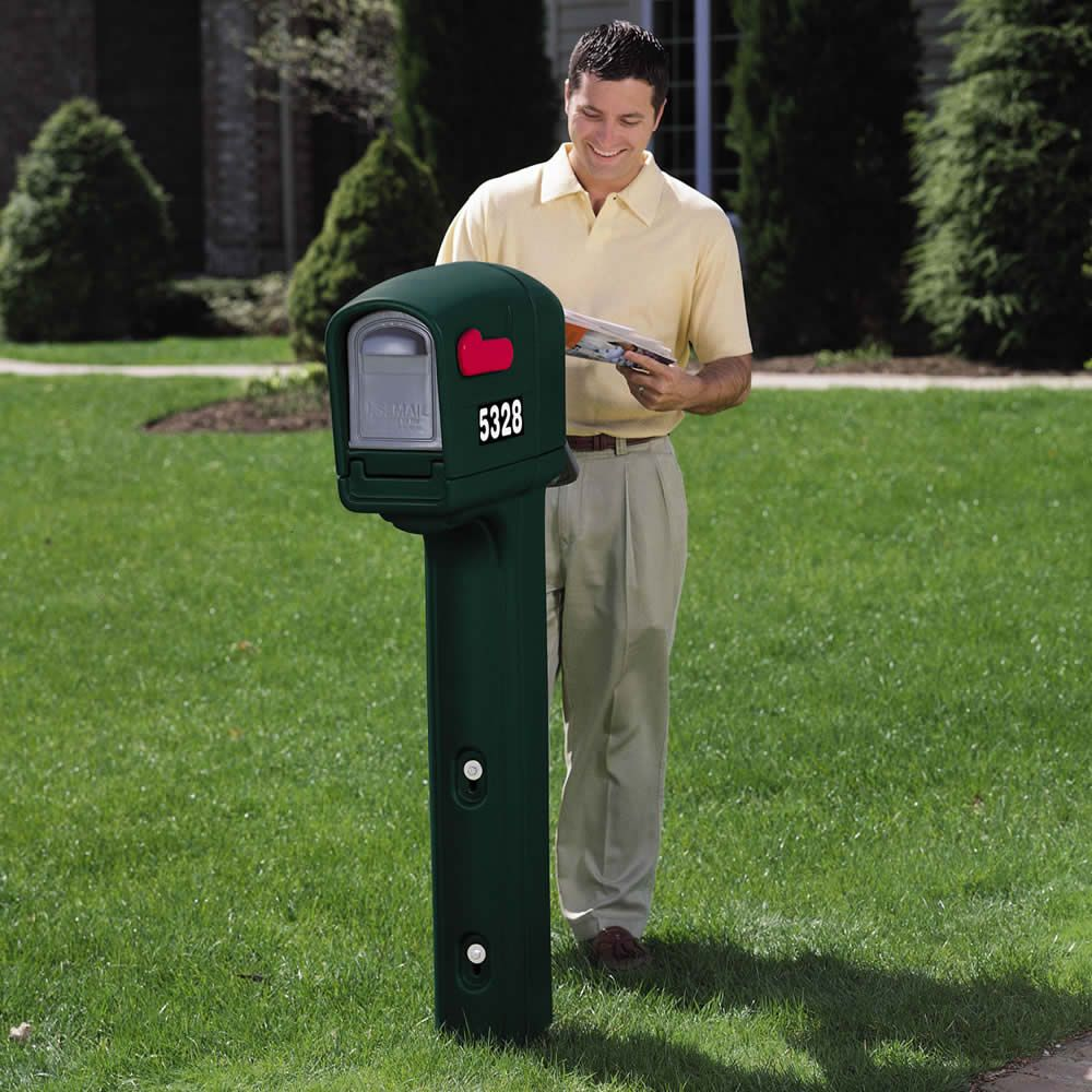 This Plastic Mailbox By Step 2 Is A Perfect Way To Keep