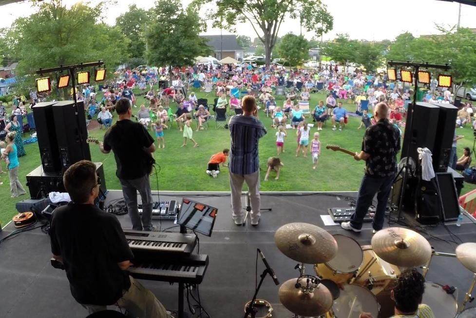Town of Clayton, NC in 2020 Summer concert, Concert