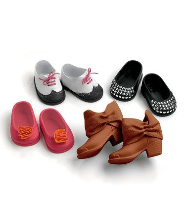 Take a look at this Doll Shoe Set by Madame Alexander on #zulily today!
