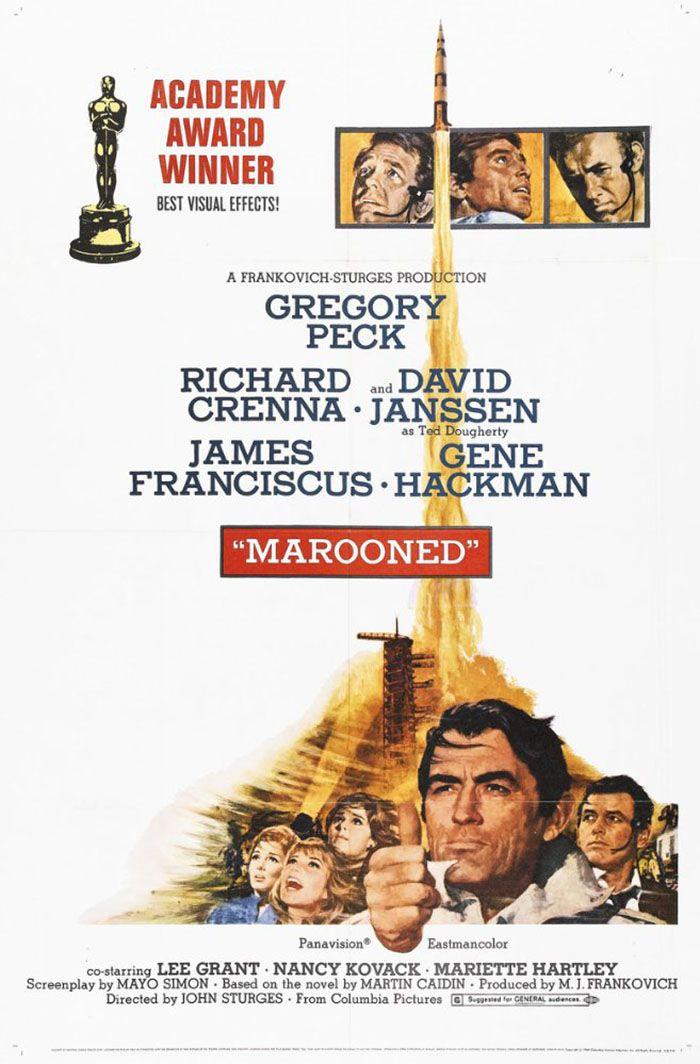 Atrapados en el Espacio (Marooned), de John Sturges, 1969