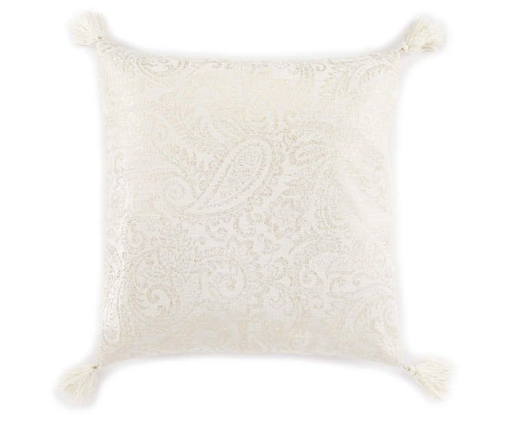 Big Lots Patterned Throw Pillow