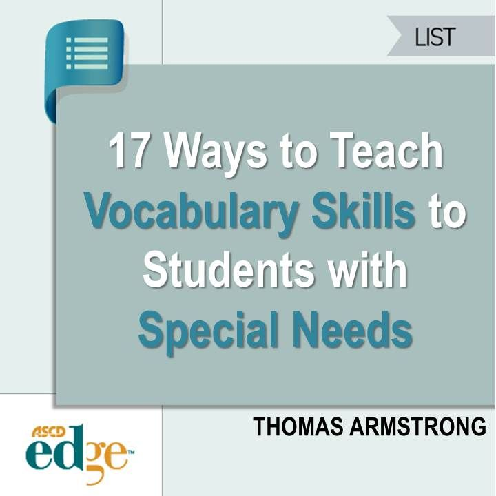 17 ways to teach vocabulary skills to students with special needs 17 ways to teach vocabulary skills to students with special needs publicscrutiny Image collections