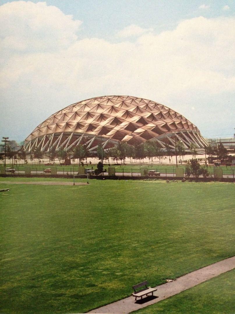 Palacio de los deportes mexico city 1968 arq f lix for Puerta 7 palacio delos deportes