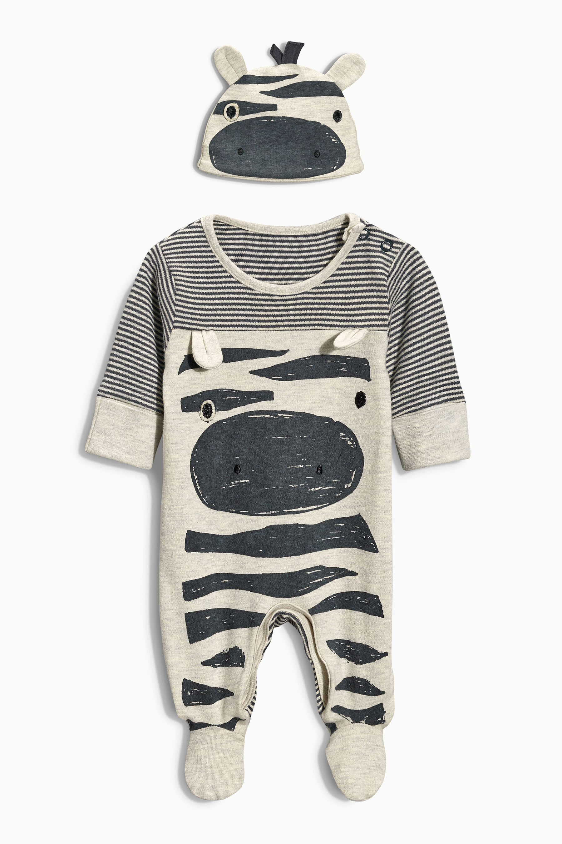 Buy Zebra Sleepsuit And Hat 0mths 2yrs from the Next UK online