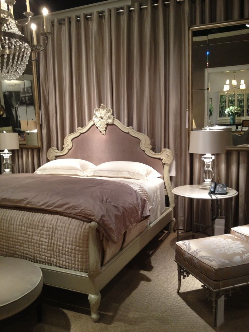 Room One of the Hickory Chair showroom showcased the new