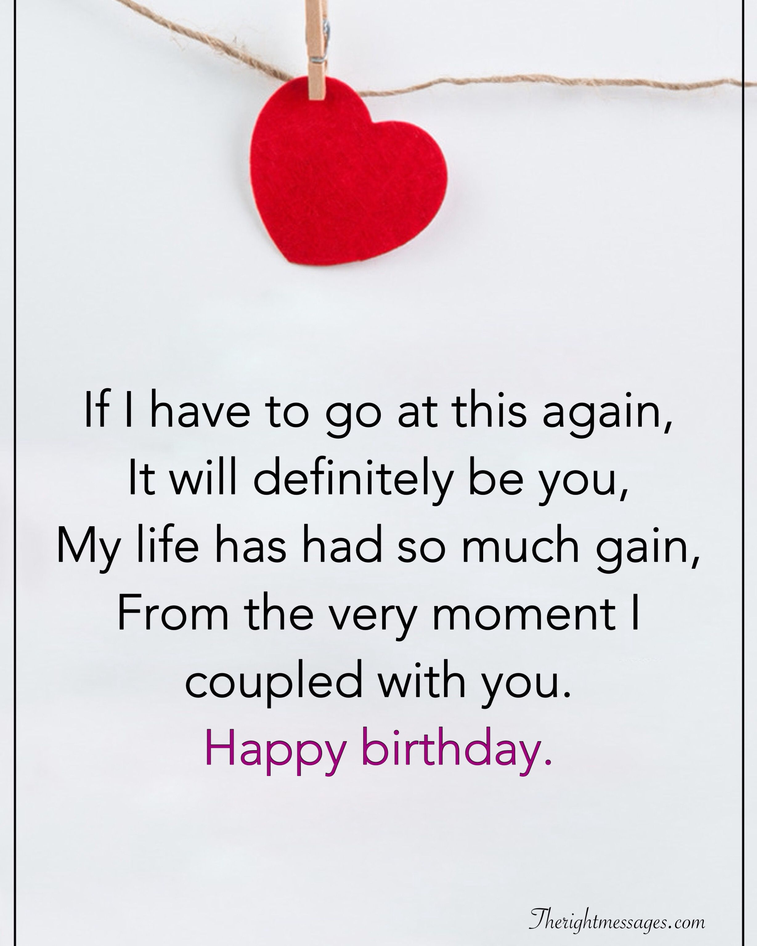 28 Birthday Wishes For Your Husband Romantic Funny Poems The Right Messages Birthday Poems For Husband Birthday Wish For Husband Birthday Poems