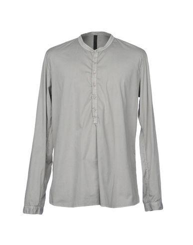 POÈME BOHÈMIEN Men's Shirt Light grey 40 suit