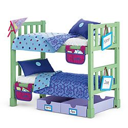Cheap+American+Girl+Doll+Beds | American Girl® : Camp Bunk Bed Set ...