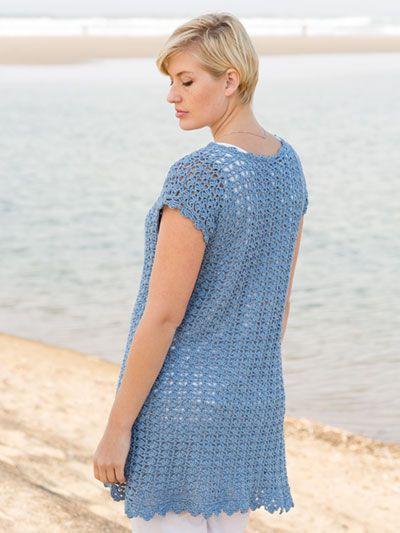 SIGNATURE DESIGNS: Deep Sea Tunic Crochet Pattern ...