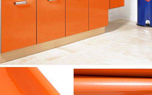 Kinlo 5M*061M Papier Peint Auto-Adhésif pour Armoire de Cuisine en