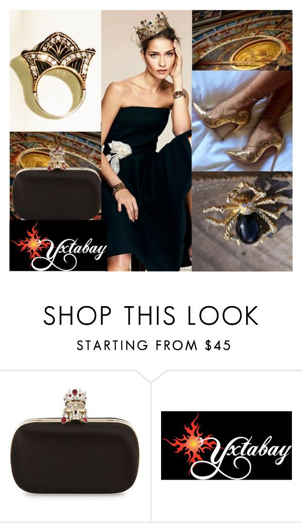 """""""Simple Princess Chic"""" by yxtabay ❤ liked on Polyvore featuring Alexander McQueen, jewelry and Yxtabay"""