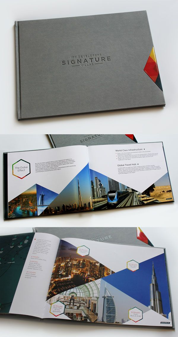 Signature Villas Dubai Brochure Design Design Pinterest