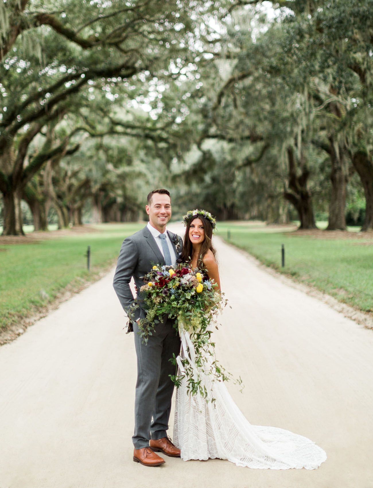 Rustic boho wedding with a sweet southern backdrop rustic