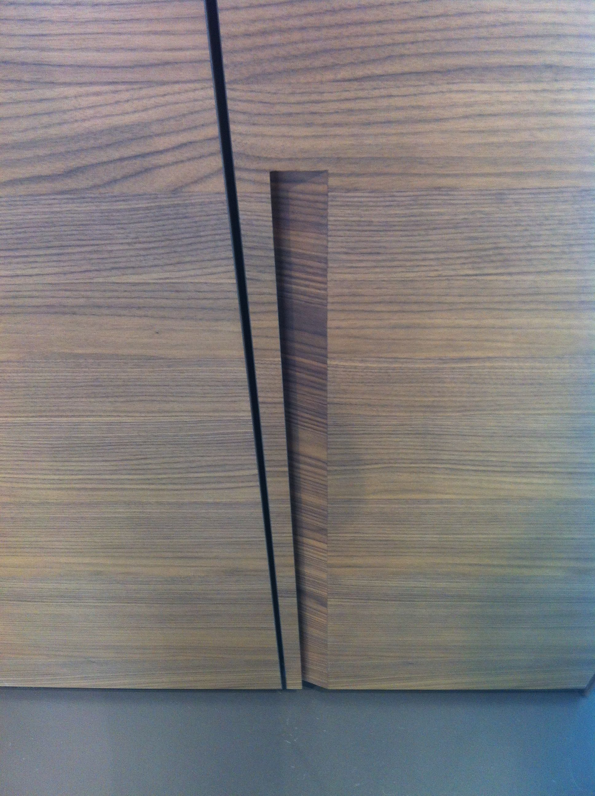 Recessed Handle Detail Poliform A Details Pinterest Detail Joinery And Joinery Details
