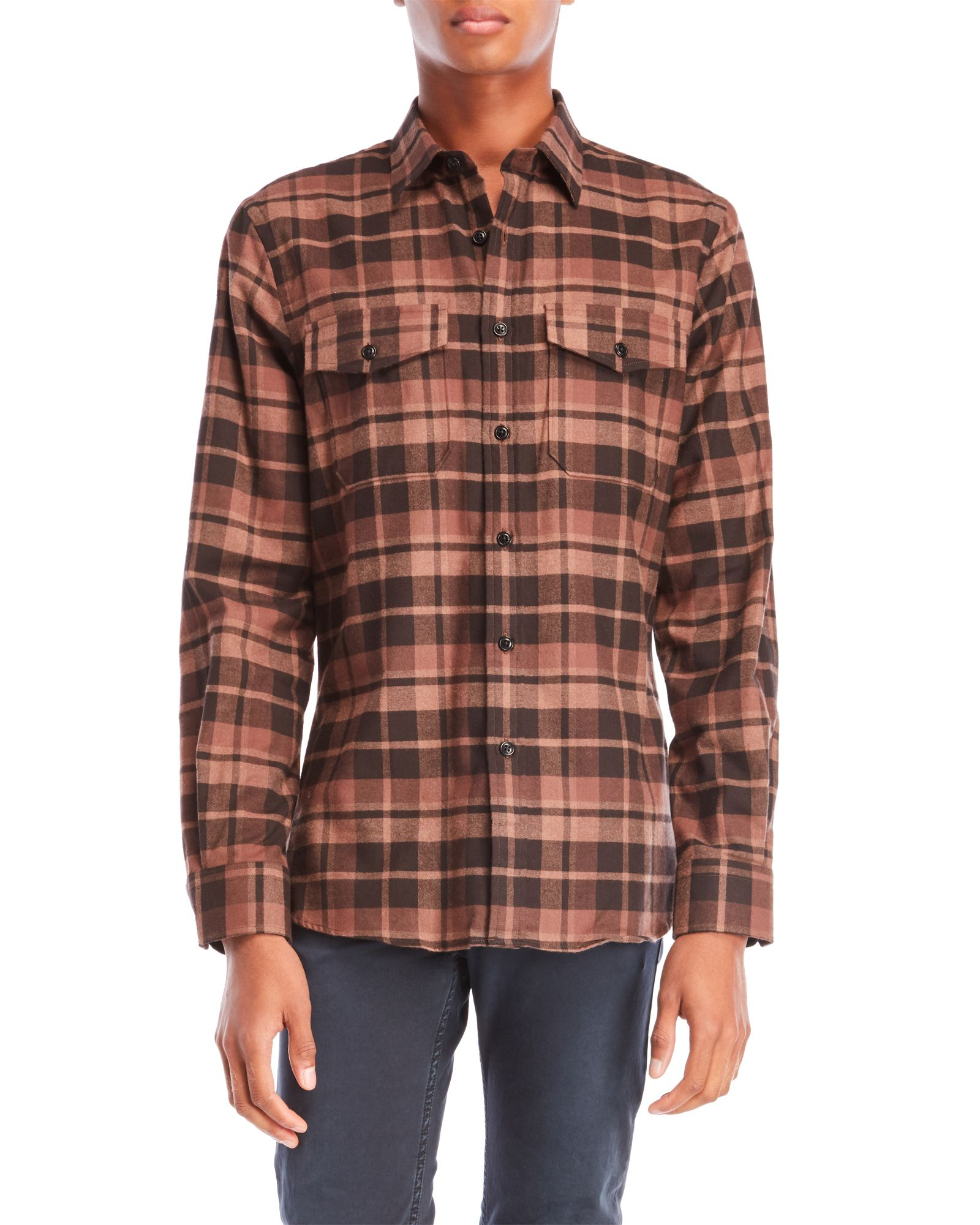 Todd Snyder Plaid Flannel