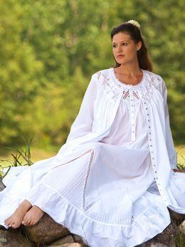 9484ec45 Eileen West Moonlight Sonata Long Cotton Nightgown | What to sleep ...