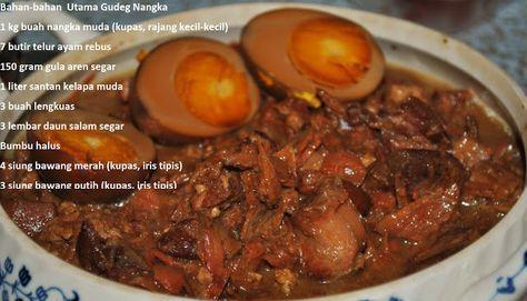 Cara Membuat Gudeg Nangka Ala Jogja Food Food Recipies Cooking Recipes