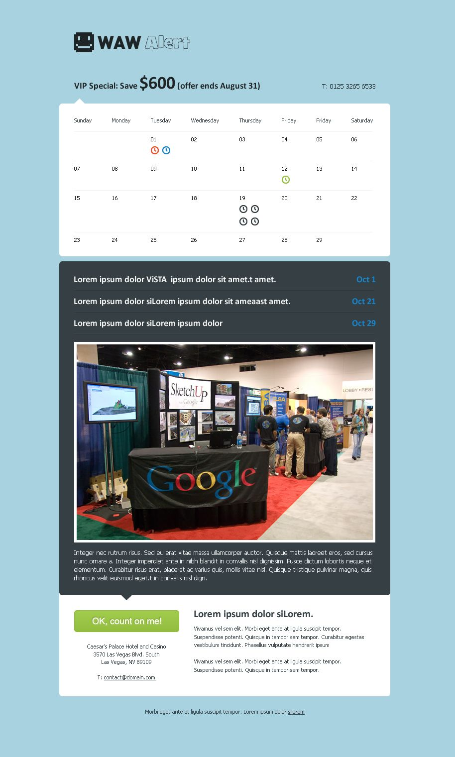 20 Web Templates For Calendar And Event Management Httpwww