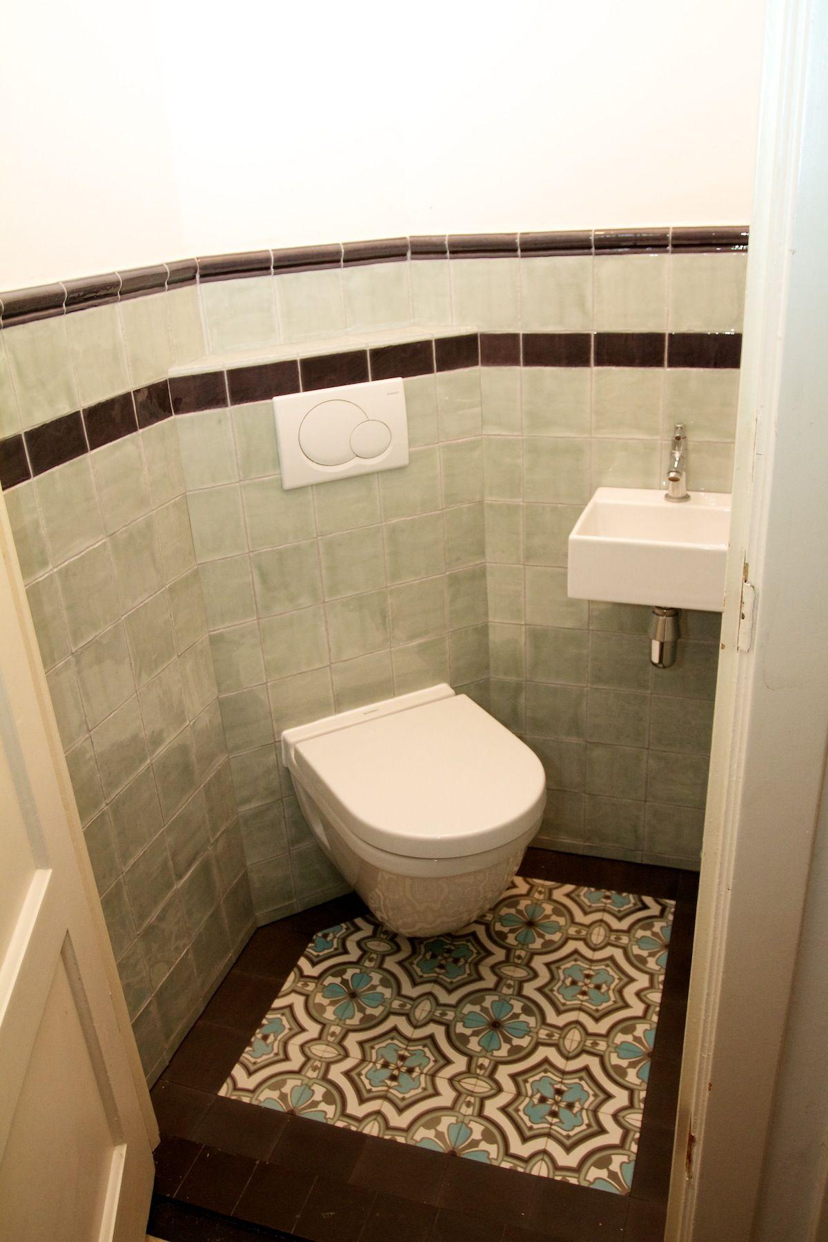 De Tegel Hilversum Tegelbv Voorbeelden Vloer Toiletruimte