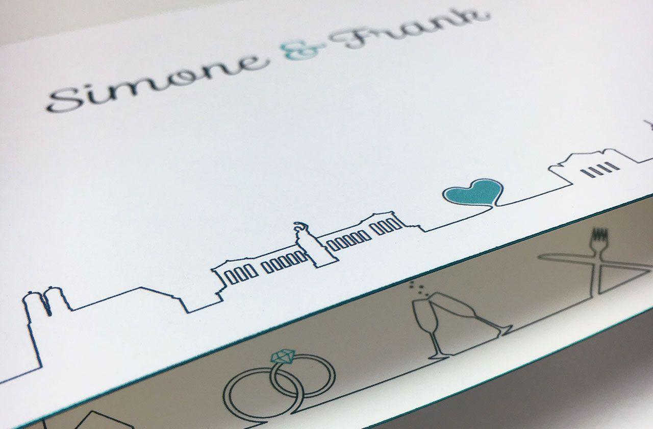 Hochwertige Elegante Hochzeitskarten Und Einladungen Munchenliebe