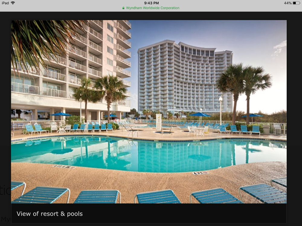 Sc myrtle beach wyndham seawatch 1b villas july 71419