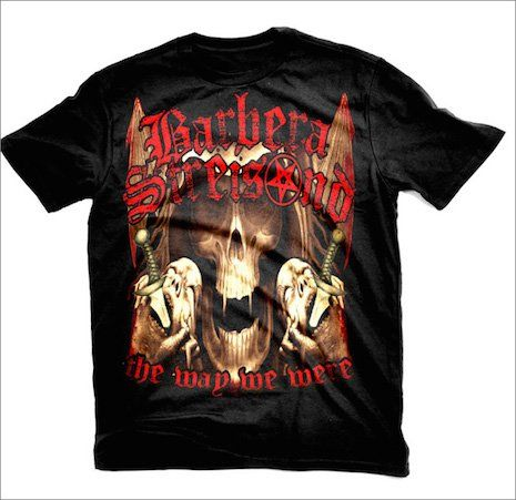 9cf16747 Heavy metal T-shirts for inoffensive pop stars   Dangerous Minds ...